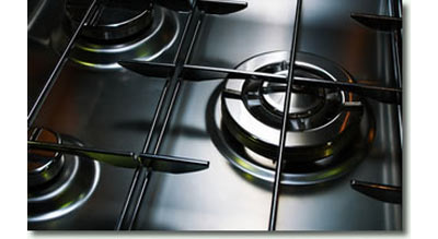 clean oven hob